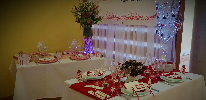 Salon du mariage d'Issoudun (36) – décoration du stand