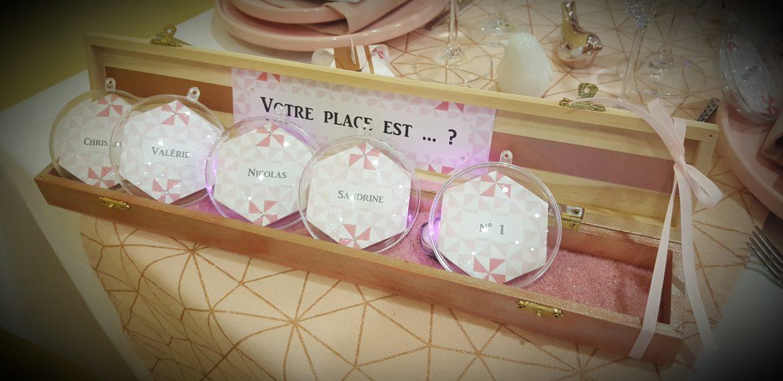 Salon du mariage d'Issoudun (36) – Décoration de table Thème Scandinave
