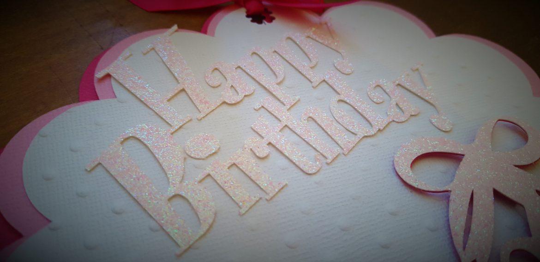 Carte d'anniversaire Fille Thème Petite danseuse
